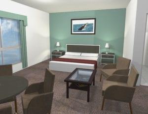 Peace Plan Designers bedroom